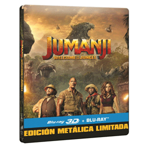 Jumanji Bienvenidos a la Jungla 3D + 2D Steelbook