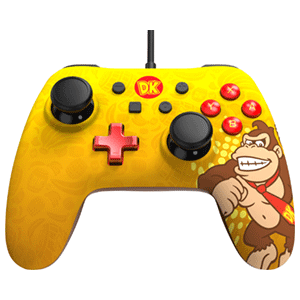 Controller con Cable PowerA Iconic Donkey Kong -Licencia oficial-