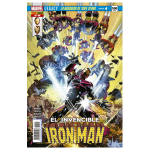 El Invencible Iron Man nº 90