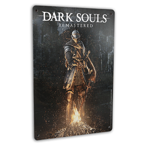 Placa metálica Dark Souls Remastered