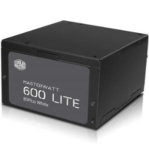 Cooler Master MasterWatt Lite 600W 80+ - Fuente de alimentación