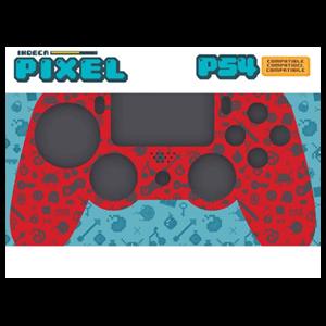 Carcasa para mando PS4 Indeca Pixel