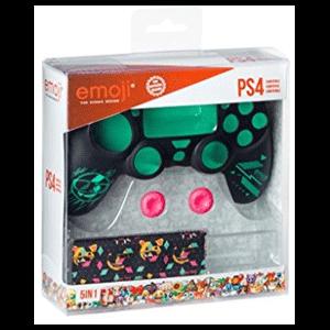 Kit 5 Accesorios mando PS4 Indeca Pixel