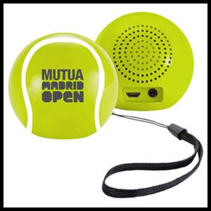 Altavoz Bluetooth® pelota de tenis o Entradas MMOpen