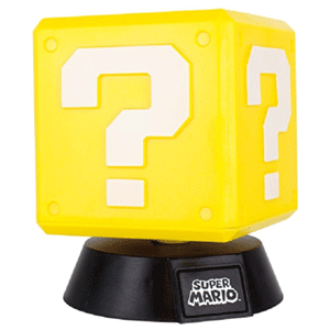 Lámpara Super Mario: Question Block