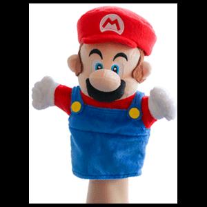 Peluche Marioneta Nintendo: Mario