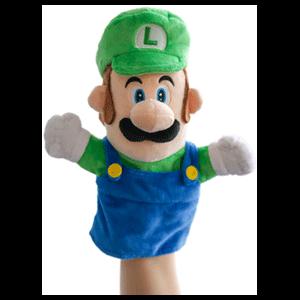 Peluche Marioneta Nintendo: Luigi