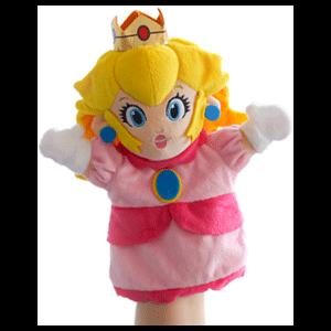 Peluche Marioneta Nintendo: Princesa Peach