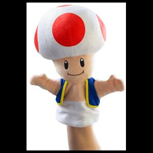 Peluche Marioneta Nintendo: Toad