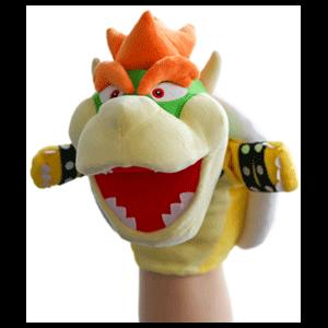 Peluche Marioneta Nintendo: Bowser