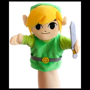 Peluche Marioneta Nintendo: Link