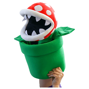 Peluche Marioneta Nintendo: Piranha Gigante