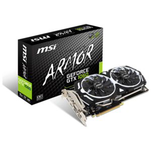 MSI GeForce GTX 1060 Armor V1 6GB GDDR5