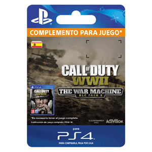 Call of Duty WWII - The War Machine PS4