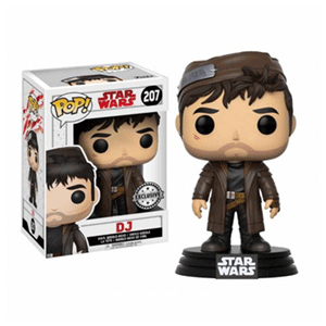 Figura Pop Star Wars VIII: DJ Ed. Limitada