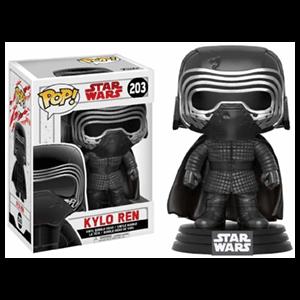 Figura Pop Star Wars VIII: Kylo Ren con Máscara Ed. Limitada