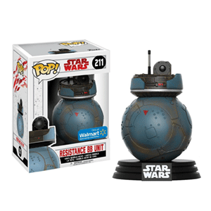 Figura Pop Star Wars VIII: Resistance BB Unit Ed. Limitada