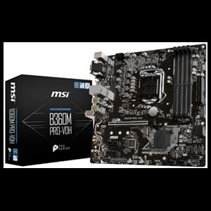 MSI B360M Pro-VDH LGA1151 ATX Micro ATX