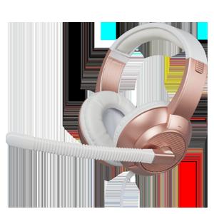 Auriculares Rosa Estéreo con Micrófono GAMEware PS4-XONE-PC-TEL