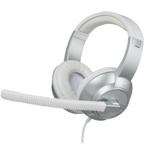 Auriculares Plata Estéreo con Micrófono GAMEware PS4-XONE-PC-TEL