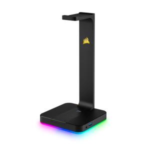 Corsair ST100 RGB Soporte Auriculares Con HUB USB