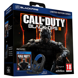 Call of Duty: Black Ops III + Auriculares Blackfire BFX-15
