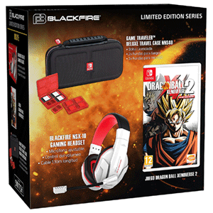 Dragon Ball Xenoverse 2 + Game Traveller NS40 + Auriculares Blackfire NSX-10
