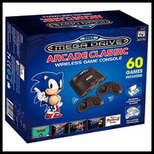 Consola Mega Drive Arcade Classic + 60 Juegos