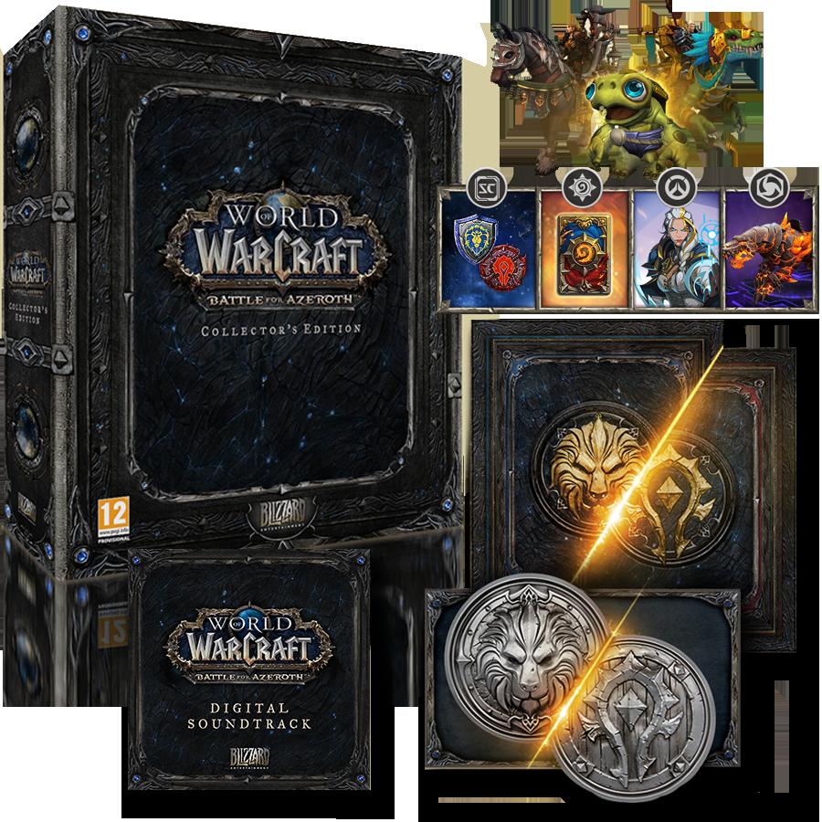World of Warcraft: Battle for Azeroth Edición Coleccionista