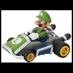 Coche Retrofricción Mario Kart 8: Luigi