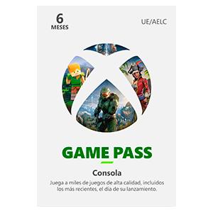 Xbox Game Pass Consola 6 Meses