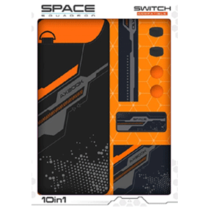 Kit 10 Accesorios Nintendo Switch Indeca Space Squadron 2018