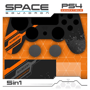 Kit 5 Accesorios mando PS4 Indeca Space Squadron 2018