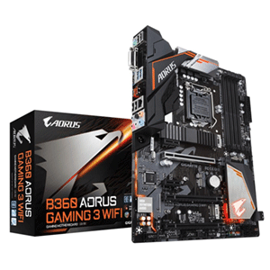 GIGABYTE AORUS B360 Gaming 3 Wifi LGA1151 ATX