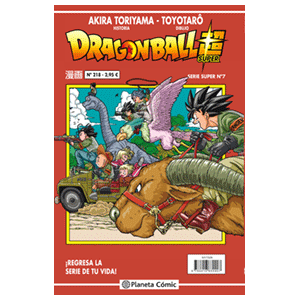 Dragon Ball Super Serie Roja nº 218