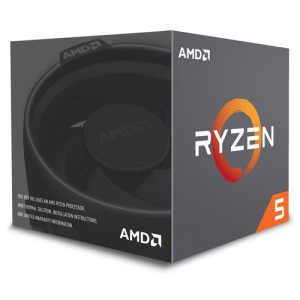 AMD Ryzen 5 2600 3.4Ghz 6-Core AM4 - Microprocesador