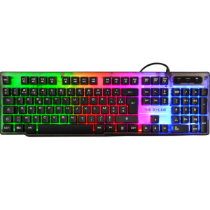 The G-Lab Keyz Neon LED Multicolor - Teclado Gaming