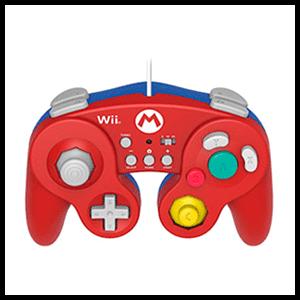 Controller Super Smash Bros Mario Hori -Licencia oficial Nintendo-
