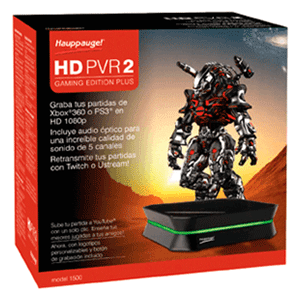 Hauppauge Hd Pvr2 Ge Plus Gaming Edition