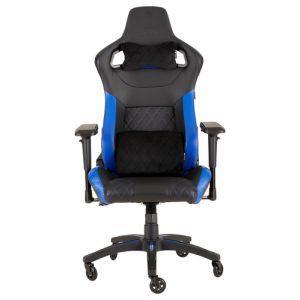 CORSAIR T1 Race 2018 Negra-Azul - Silla Gaming