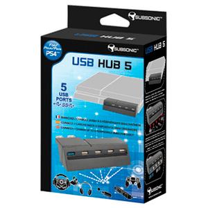 USB Hub 5 puertos Subsonic