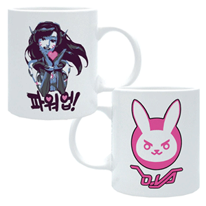 Taza Overwatch D.VA 320ml