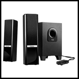 Altavoces Hercules 2.1 Gloss Bluetooth