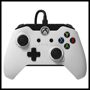Controller con Cable PDP Blanco -Licencia Oficial Microsoft-