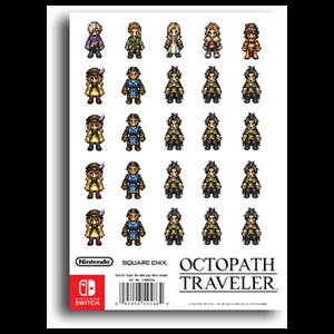 Octopath Traveler - Stickers