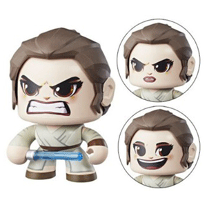 Figura Mighty Muggs Star Wars: Rey
