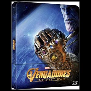Vengadores Infinity War - Steelbook 3D + 2D