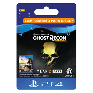 Tom Clancy's Ghost Recon Wildlands Year 2 Pass PS4