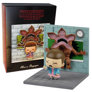 Figura Stranger Things: Eleven vs Demogorgon