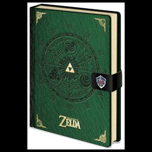 Libreta Premium Zelda Verde